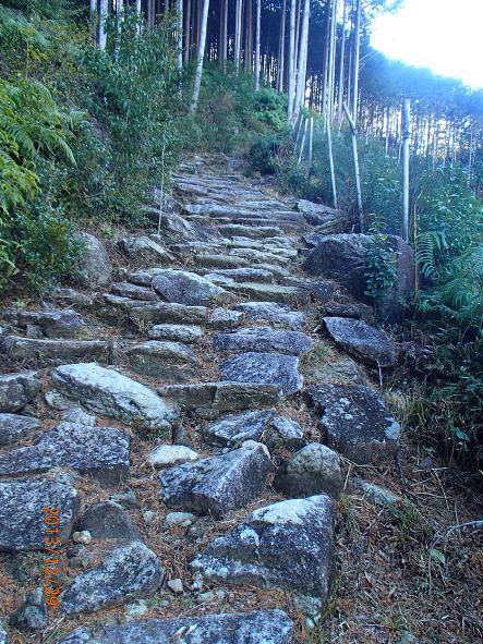 131226-140102kumanokodo6 八鬼山越え 行き倒れの碑がたくさん