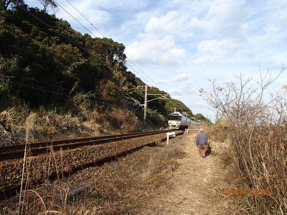 131226-140102kumanokodo13 今山行一番スリリングな道