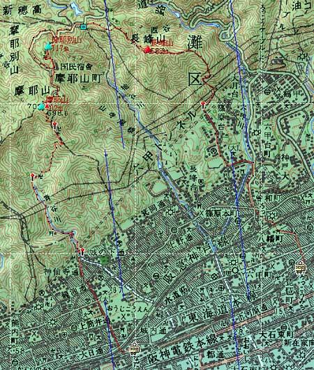 20100211摩耶山地図