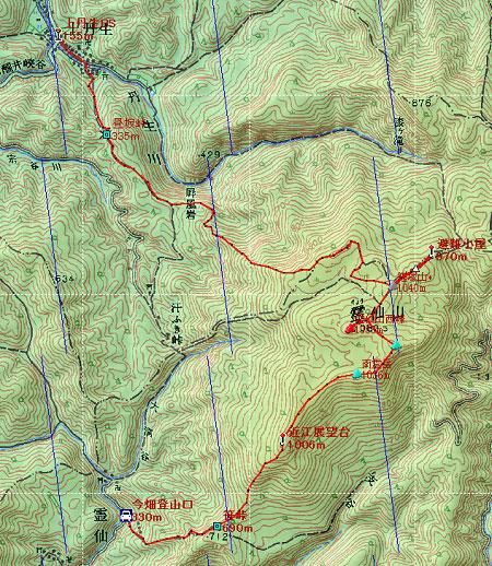 20100403霊仙山地図