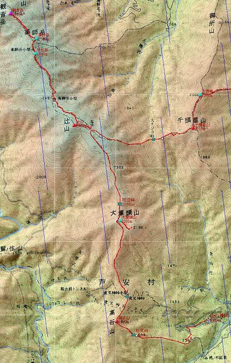 20100807鳳凰三山地図2