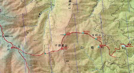 20100807鳳凰三山地図1