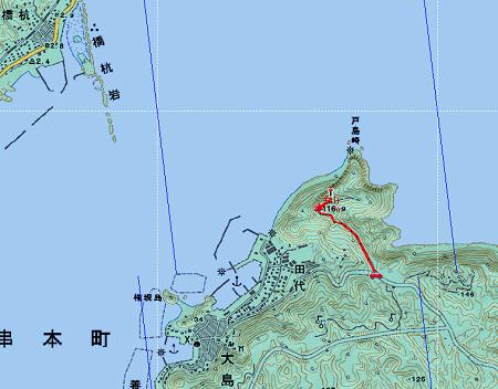 20140308嶽ノ森山地図1日目②
