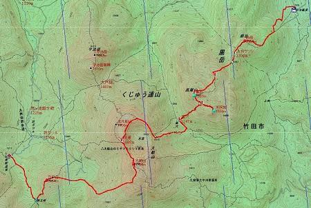 20140605大船山地図3日目