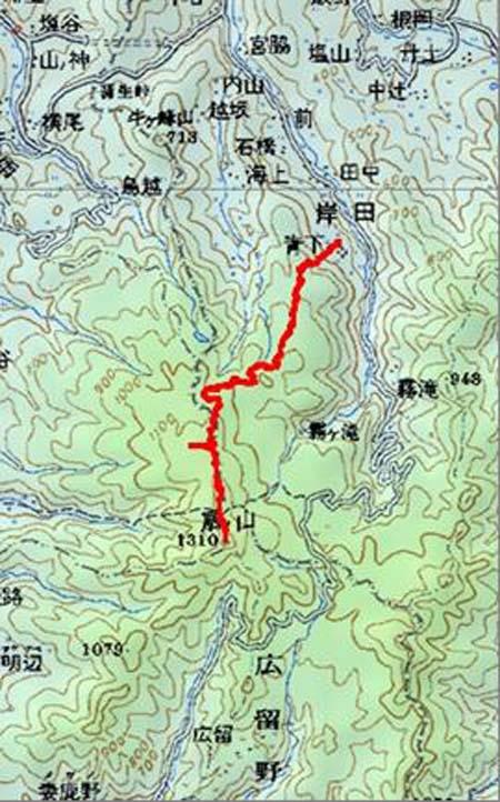 201406扇ノ山map