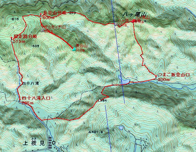 20121027八ヶ尾山地図1