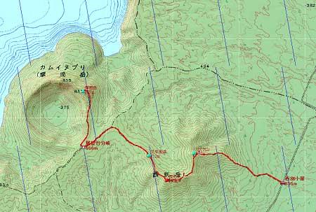 20110821知床連峰地図25