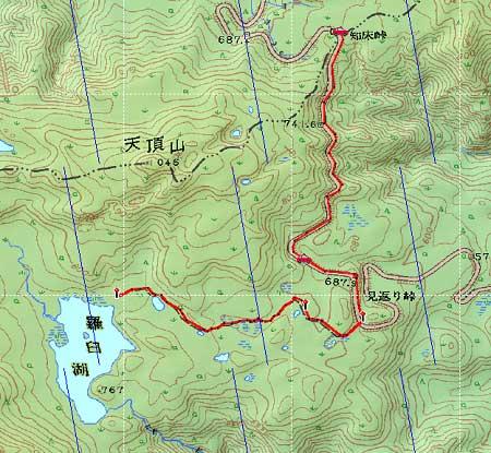20110821知床連峰地図23