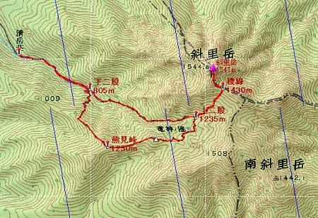 20110821知床連峰地図24