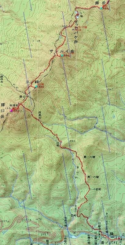 20110821知床連峰地図21