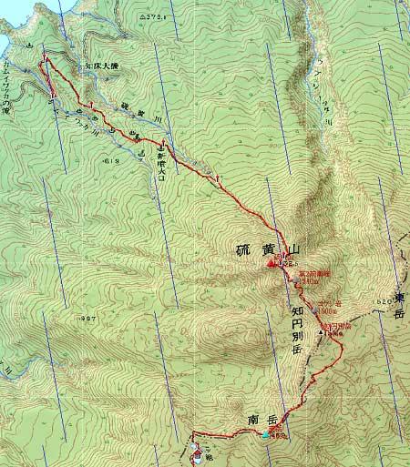 20110821知床連峰地図22