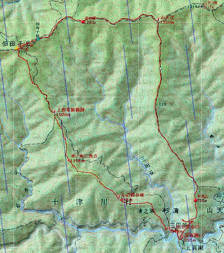 20130428伯母子岳地図