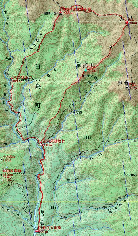 20130413丸山・初河山地図