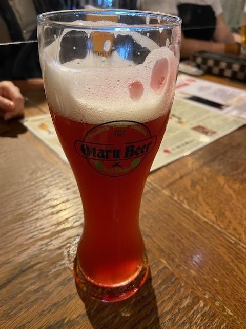 小樽ビールでチャリティー