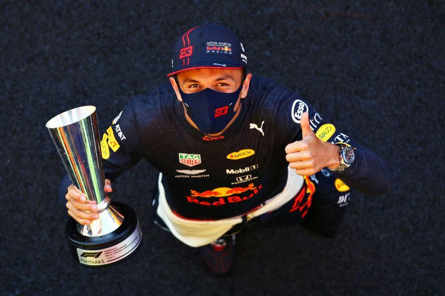 トスカーナGPで3位表彰台を獲得したアレックス・アルボン