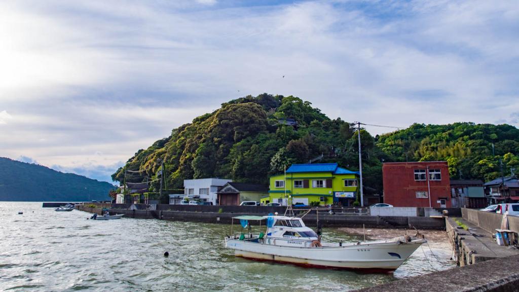七日島起点小筑紫湾