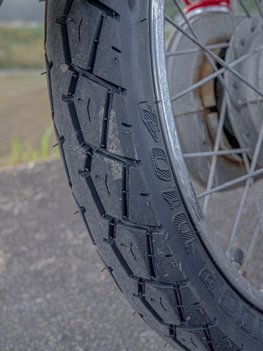 DUNLOP(ダンロップ)バイクタイヤ D104 リア 2.50-17 4PR