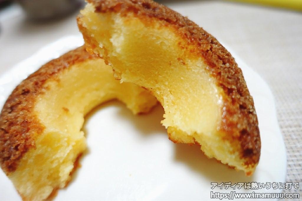 セブンイレブンのベイクドリング(チーズケーキ風味)