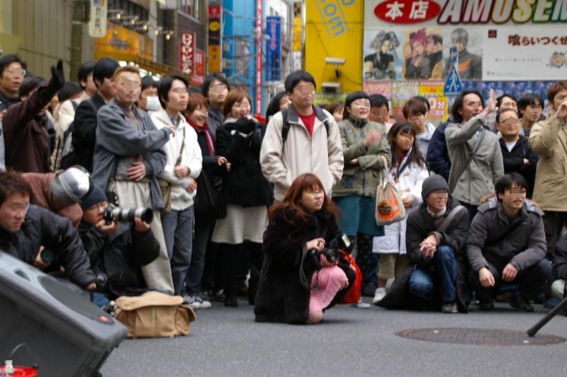 2005年03月13日 秋葉原 Perfume 桜花一門 (VR師匠) @oukaichimon