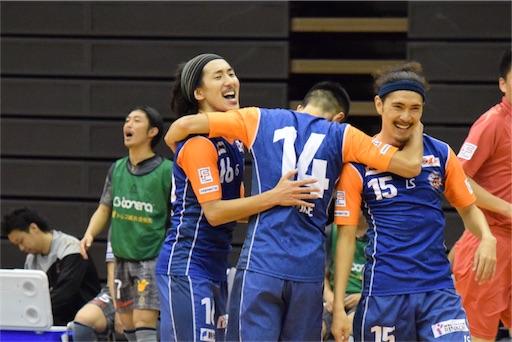 アグレミーナ浜松、須藤慎一が同点ゴール