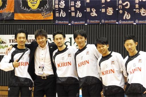 アグレミーナ浜松、監督・コーチ・スタッフ陣も記念写真