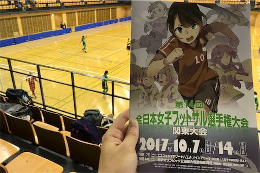 第14回全日本女子フットサル選手権関東大会パンフレット