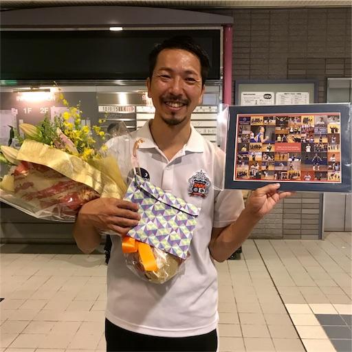 選手引退の後は下部組織のコーチをしていた曽根田盛将氏がアグレミーナ浜松を退団