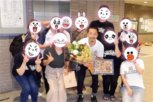 アグレミーナ浜松を退団する曽根田さんにファンからプレゼント