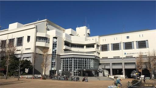 足立区総合スポーツセンター・外観