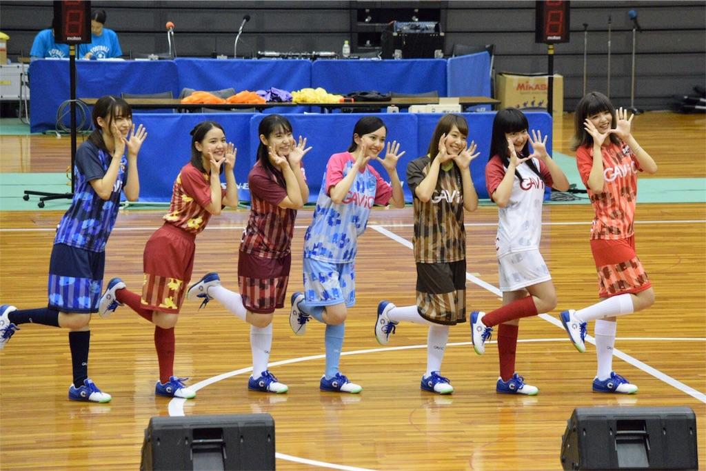 日本女子フットサルリーグの公式応援ガール
