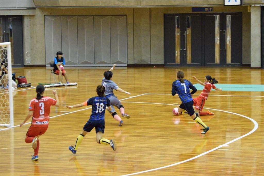 残り2分で劇的同点ゴールを決めた福井丸岡RUCK・高尾茜利①