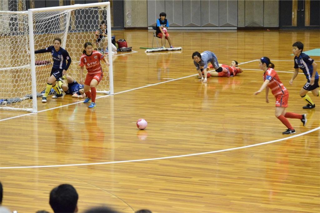 残り2分で劇的同点ゴールを決めた福井丸岡RUCK・高尾茜利③