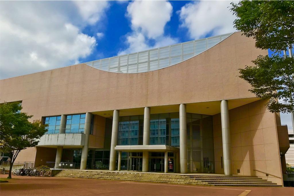 茅ヶ崎市総合体育館の外観