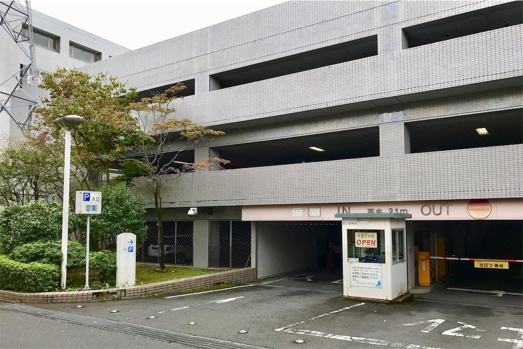 町田市立総合体育館の駐車場②