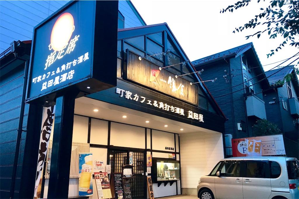 町田市立総合体育館の近くにある「町家カフェ&角打ち酒屋 益田屋」
