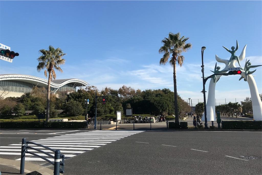 浦安市運動公園総合体育館へのアクセス・舞浜駅③