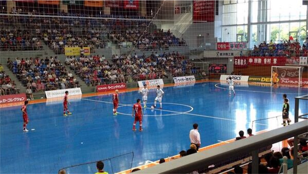 日本唯一のフットサル専用体育館・オーシャンアリーナ