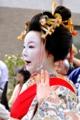 京都新聞写真コンテスト 太夫さん