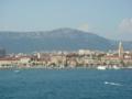 Dubrovnikの港から出港