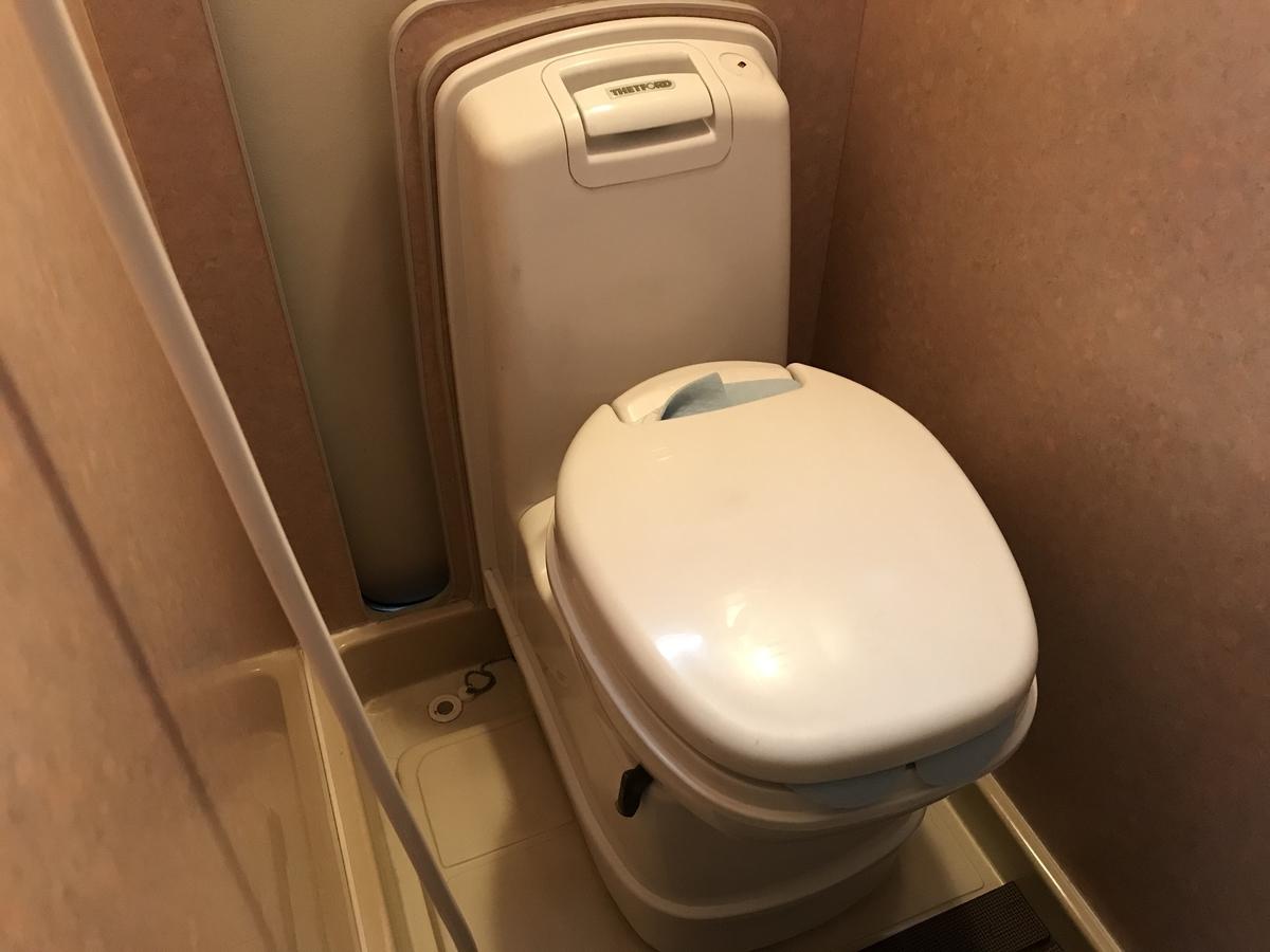 キャンピングカー トイレ 水洗 カセット式 必要か