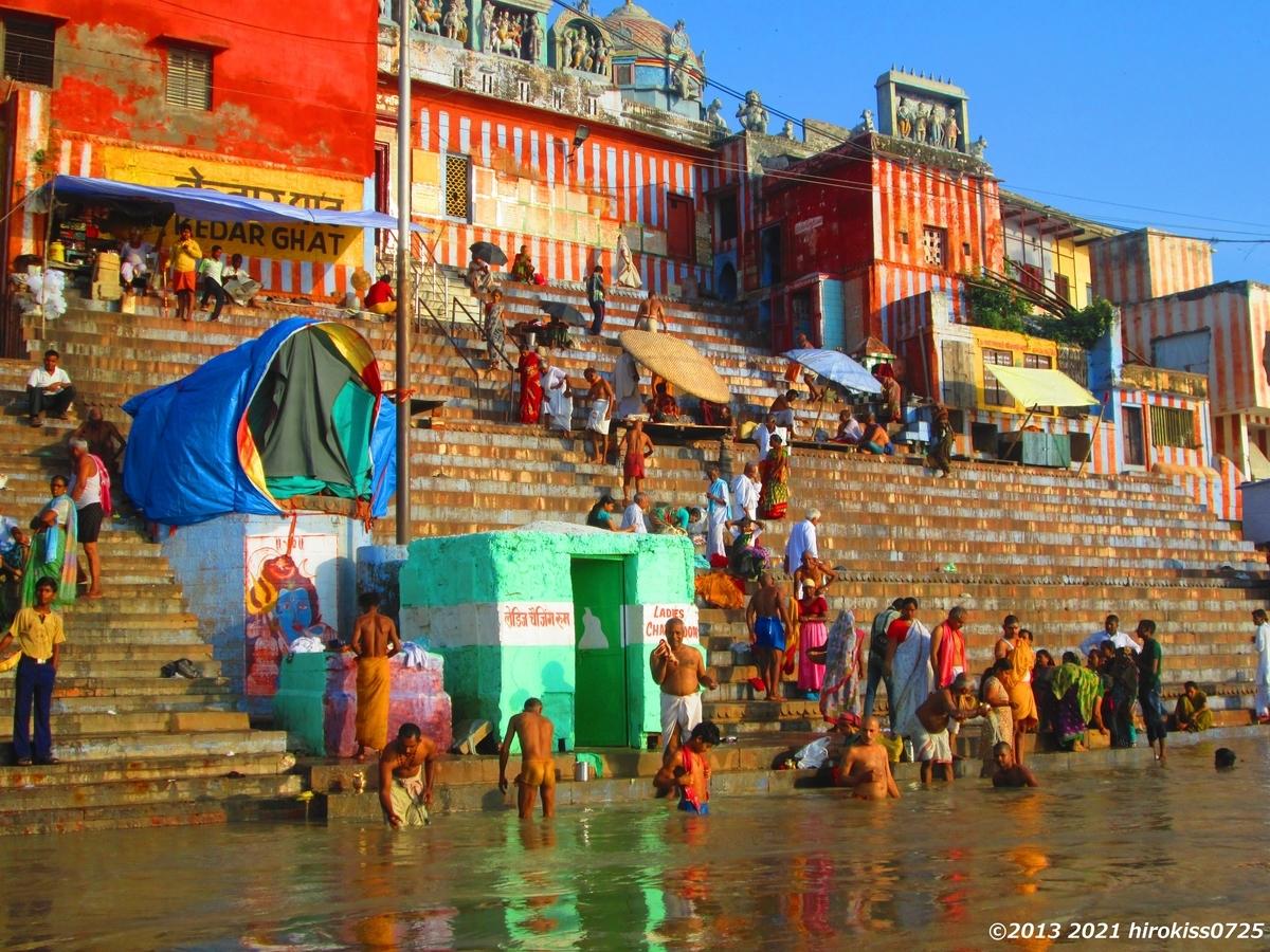 世界一周 インド ガンジス河