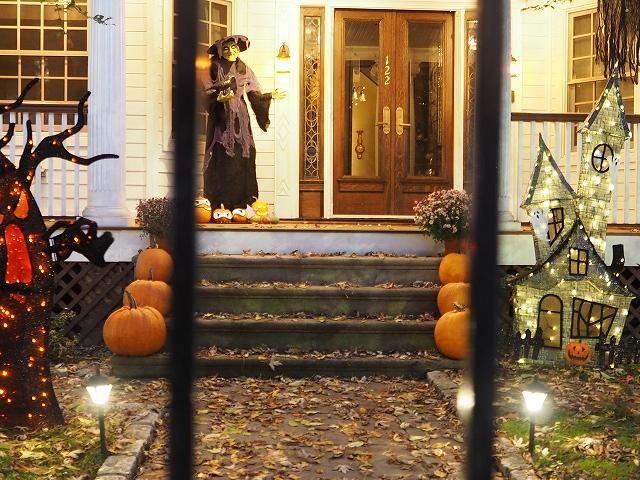 近所のハロウィン飾り付け2019