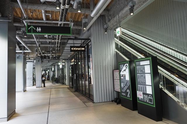2階の商業施設