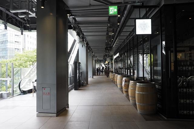 3階の商業施設