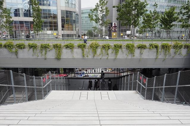 The High Lineをとても意識しているような場所
