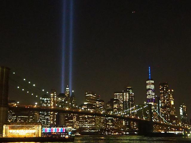 2019.9.11にブルックリンのダンボから撮った写真