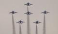 ブルーインパルス(平城宮天平祭)編隊連携機動飛行