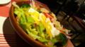 ゆで卵とアボガトのサラダ