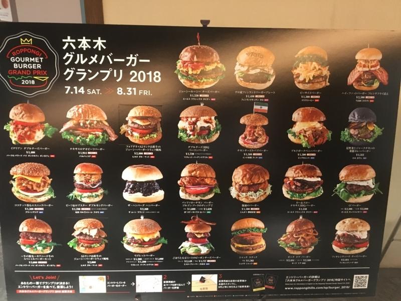 ハンバーガーグランプリ ポスター