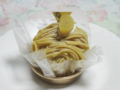 SHONAN CREATIVE IMAGE GATEAUX 葦 和栗のモンブラン